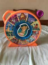 Vintage The Lion King Mattel Disney See-N- Say 1989 Pull Music Game Toy Orange