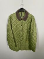 BARBOUR LIDDESDALE Jacket - Large - Green - Great Condition - Mens