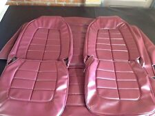 Valiant Vf Pacer Sedan Seat Trim Covers Full Set,burgundy Or Black,Aussie Made