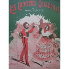 The Lancers Quadrille English Dance Piano 1914 partition sheet music score