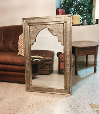 1 Meter Moroccan Mirror, boho decor, Luxury Mirror, Handmade Craft.
