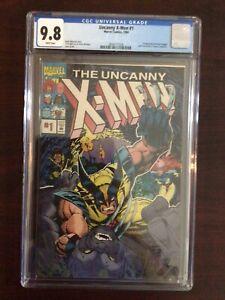 CGC 9.8 Uncanny X-Men 1 Pro Action Magazine White Pages - Free Shipping
