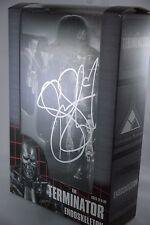 NECA T-800 The Terminator Endoskeleton Autographed Signed Summer Glau RCCC2016