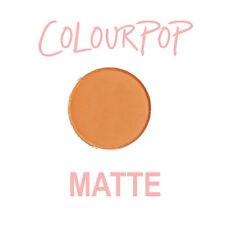 ColourPop Pressed Powder Eye Shadow Pan - KOI - matte soft warm orange