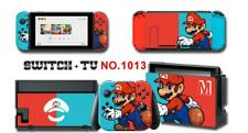 Super Mario Manga Skin Aufkleber Stickers Schutzfolie Für Nintendo Switch