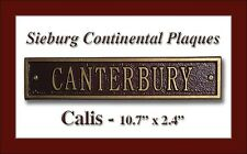Whitehall Calis Address Marker Personalized Compact Plaque with 17 Color Choices