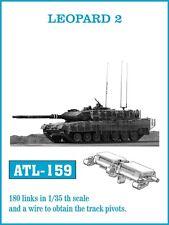 1/35 FRIULMODEL ATL-159 METAL TRACKS FOR GERMAN LEOPARD 2 for TAMIYA HOBBY BOSS