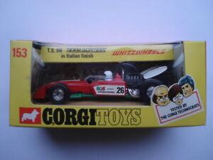 C1972 CORGI WHIZZWHEELS No153 T.S.9B TEAM SURTEES ITALIAN FINISH MINT BOXED CAR