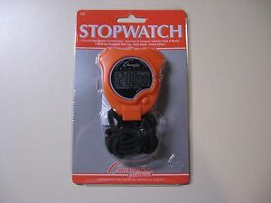 STOPWATCH - CHAMPION SPORTS TIMER - NEW IN ORIGINAL SEALED PACKAGE
