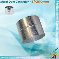 """8""""/200mm Ventilation Air Cooling Duct Fan Ducting Reducer Connector Joiner"""