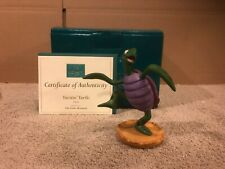 "Wdcc Little Mermaid - Turtle ""Twistin' Turtle"" + Box & Coa"
