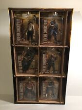 2012 AMC Walking Dead McFarlane  Series 2 Mint Action Figure Set & Store Display