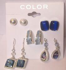 COLOR Earrings- 5 Pairs