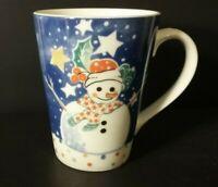 "Epoch by Noritake Mr Snowman 4 1/2"" mug"