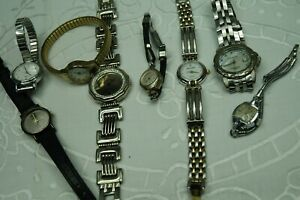 ~ Vintage/Classic Mixed Timepieces/Watches LOT ~