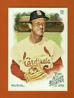 2019 Topps Allen & Ginter Stan Musial #64 St. Louis Cardinals