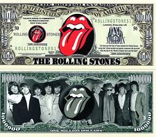 The Rolling Stones Rock Band Million Dollar Novelty Money