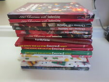 Huge lot of 14 hardcover Southern Living and Family Circle Christmas books