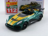 Lotus 3-Eleven in grünmetallic, Takara Tomy Tomica # 112, 1/59