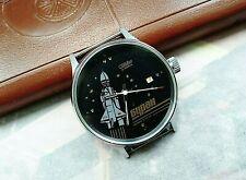 Slava Buran Space Shuttle Soviet Mechanical Wristwatch  Cosmic Program Vintage