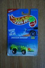 1995 Mattel Hot Wheels Dragon Wagon #478 (Green/Yellow)