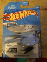2017 Hot Wheels Star Trek USS Enterprise NCC-1701 Hw Screen Time Mattel Starship