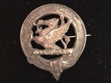 Scottish Leslie Family Grip Fast Sterling Silver Clan Pin