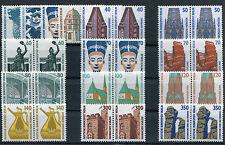Berlin 834,832,874,815... postfrisch waagerechte Paare kompl.Sehenswürdigkeiten