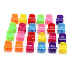 24 Pcs New Plastic Mini Claw Clamp Clip Styling Hair Accessory For Women Girls