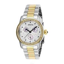 Invicta Angel 28467 Women's Round Analog Day/Date Crystal Two-Tone Watch