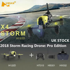 Hubsan X4 H122D Pro Storm FPV Racing Drone with 720P Camera LCD FPV Goggles,High