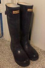 Hunter Boots Tall Women's Dark Purple UK4 US M5/F6  EU37