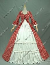 Renaissance Princess Pioneer Women Dress Vampire Halloween Costume N 257 M
