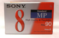 1x SONY Standard MP PAL 90 8mm Video Camcorder Kassette leer ungeöffnete OVP 349
