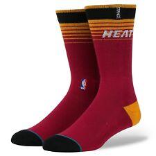 Stance Socks NBA Miami Heat Arena Logo Classic Pique No 558 Sz Large 9-12