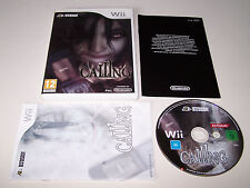 THE CALLING - Nintendo WII - UK PAL - Boxed & Complete - EXC COND - Horror