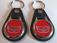 FORD TRUCK-F100-1100-KEYCHAIN-2-PACK 1961-1962-1963-1964 -1965 V8 red