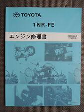 JDM TOYOTA 1NR-FE Engine Original Genuine Service Shop Repair Manual Book