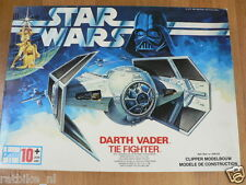 STAR WARS MODELKITS DART VADER TIE FIGHTER AND SKYWALKER X-WING FIGHTER 1977
