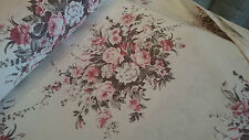 """%100Cotton ,Designer Curtain&Upholstery Fabric, Floral Print,Width - 180cm / 71"""""""