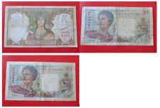 France - Lot 3 billets Colonies