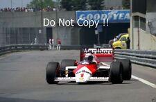 Alain Prost McLaren MP4/3 Detroit Grand Prix 1987 fotografía 1