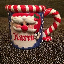 Ceramic Christmas Santa Claus Coffee Mug - KAREN