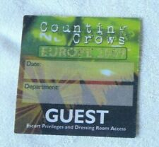 Counting Crows @)( Europe Tour Pass ( Guest ) Free Shipping