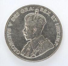 1923 Canada 5 Cents George V Km29 - AU #01271296g