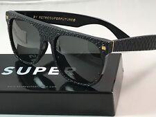 Retrosuperfuture Flat Top Goffrato Frame Sunglasses SUPER PF4 NIB