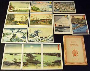 AK Das farbige Meisterwerk Serie 26 Japanische Landschaften Woldemar Klein