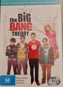 The Big Bang Theory : Season 2 (DVD, 2010, 4-Disc Set) TV comedy Johnny Galecki