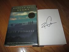 Author RICHARD PAUL EVANS signed THE LAST PROMISE 2002 1st Edition Book