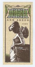 HASH BASH handbill Ann Arbor 1996 HEMP protest